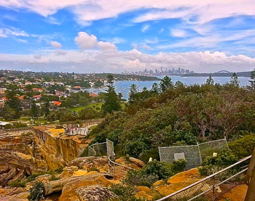 Looking over Watson's Bay. From Walking Sydney: North Bondi to South Head