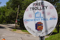 Free Trolley sign picture