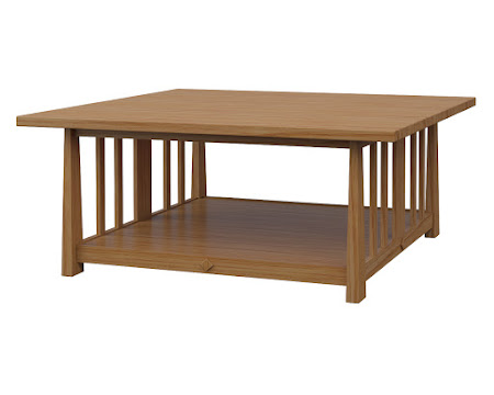 Eastern Coffee Table in Manor Hickory