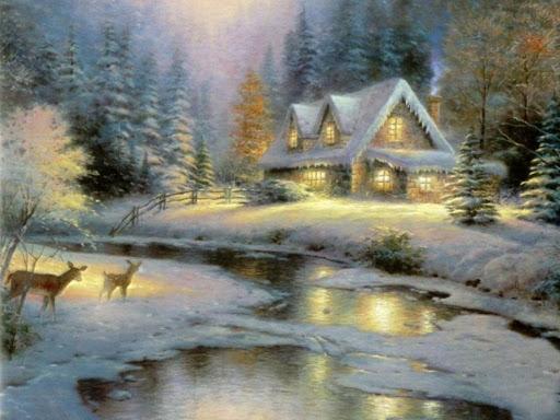 Kostenlose Animierte Weihnachtsbilder.6 Weihnachtsbilder Landschaften Gif Sammlungen Weihnachten Advent 3