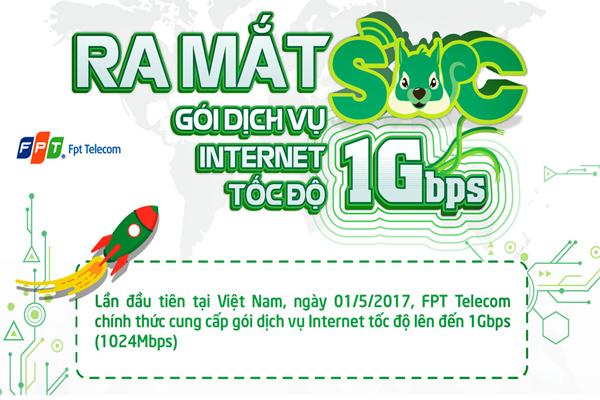 FPT Telecom Triển Khai Gói Cước Nhanh Nhất Tại Việt nam