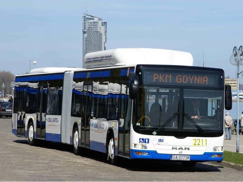 Flota przegubowych autobusów CNG w PKM Gdynia powiększy się z 15 do 17 sztuk!