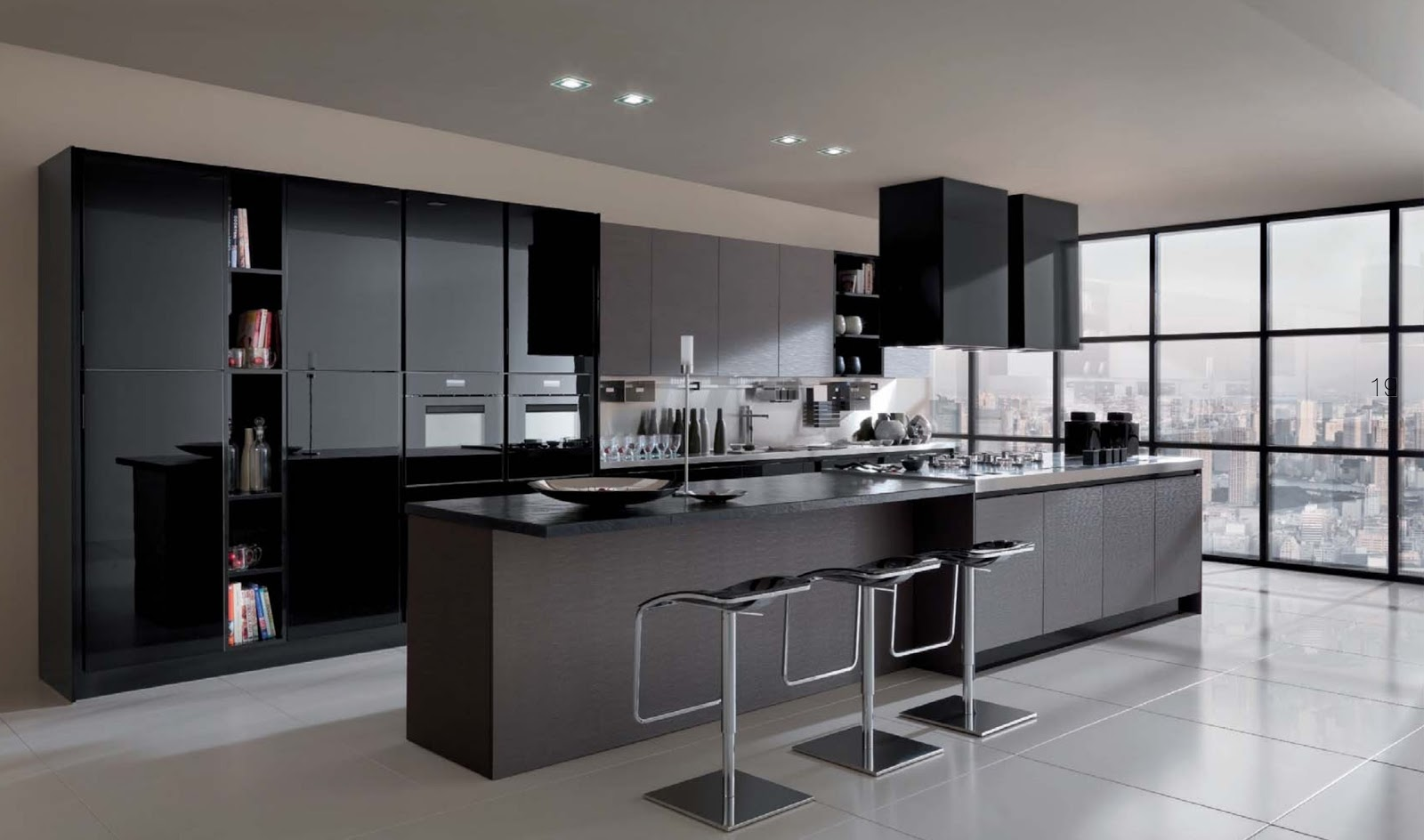 Dise o de interiores ram n mart marzo 2011 for Ver cocinas modernas precios