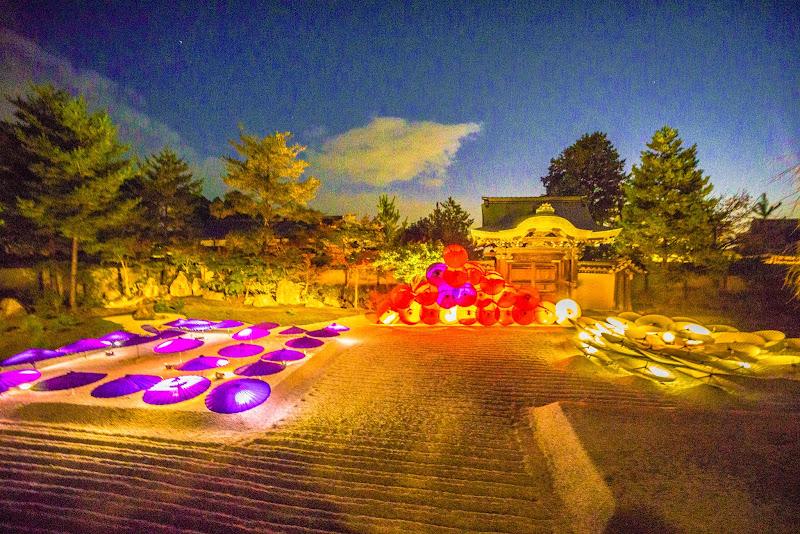 京都 高台寺 紅葉 ライトアップ 写真4