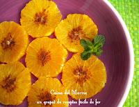 Taronja amb canyella - Limon bel karfa