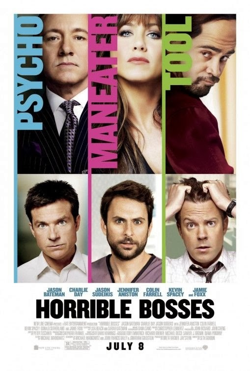 Poster Of Horrible Bosses (2011) Full Movie Hindi Dubbed Free Download Watch Online At Alldownloads4u.Com