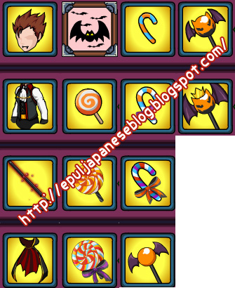 Reward-Reward Halloween Event 2011 Ninja Saga