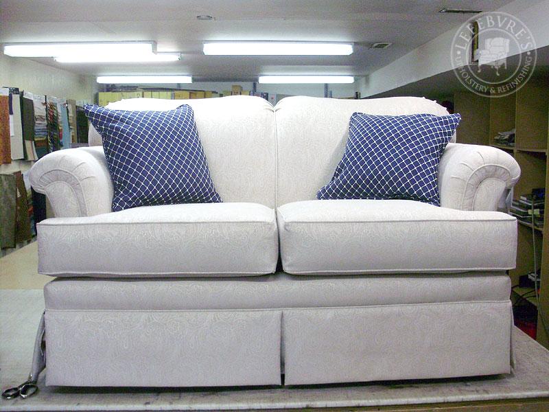 Lefebvre S Upholstery Sklar Peppler Loveseat Off White