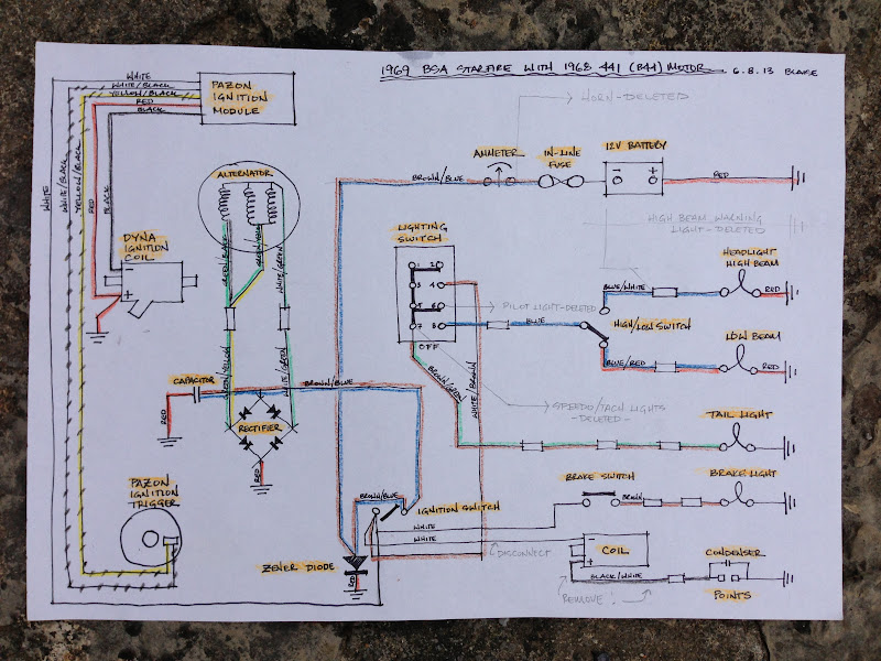 bsa b50 wiring diagram example electrical wiring diagram u2022 rh huntervalleyhotels co