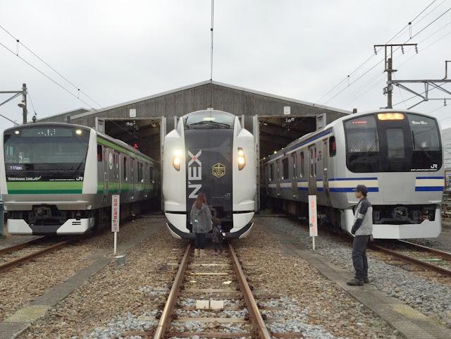 鉄道】2014/11/08 かまくら車両...