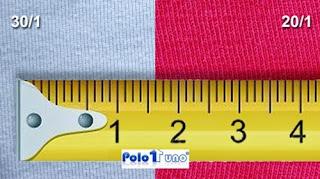 Medida dada por la cantidad de surcos en un tejido