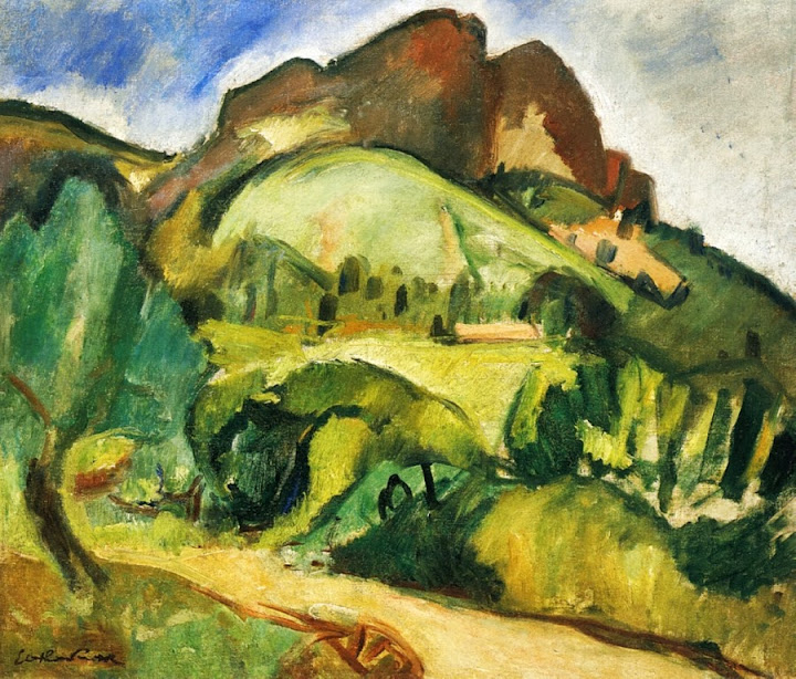 Othon Friesz - Sainte-Victoire Mountain,1906