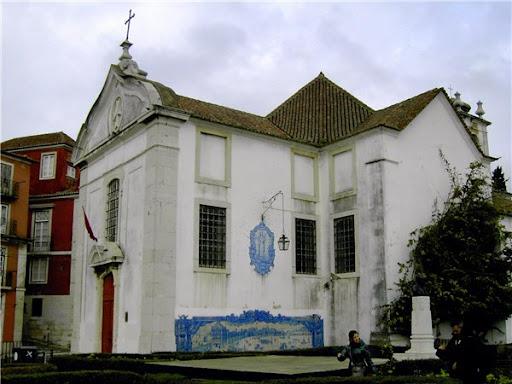 Церковь Санта Лузиа Лиссабон фото