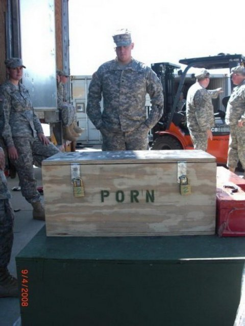 porn in the military