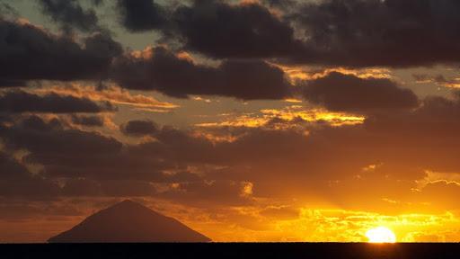 Volcano at Sunset, Kingdom of Tonga.jpg