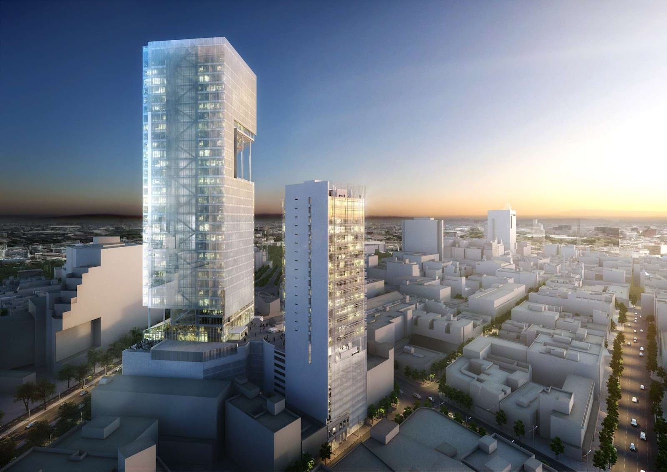 Richard Meier: REFORMA TOWERS by RICHARD MEIER & PARTNERS
