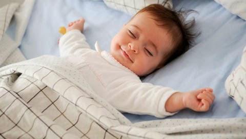 Ảnh chúc ngủ ngon hình em bé đáng yêu nhất