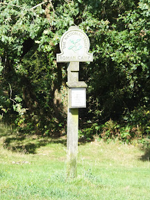 Roman Camp National Trust marker