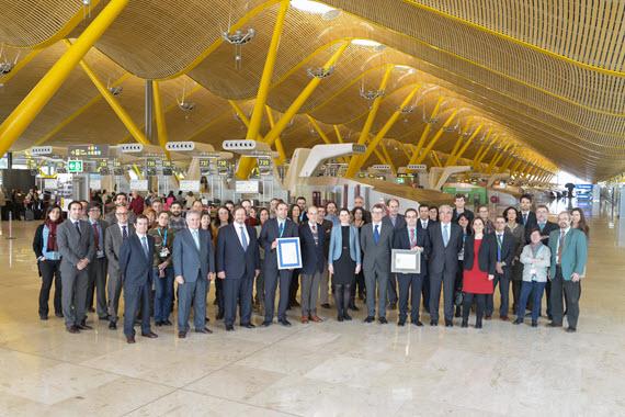 Madrid-Barajas es el primer HUB europeo con Sello de Excelencia Europea 500+