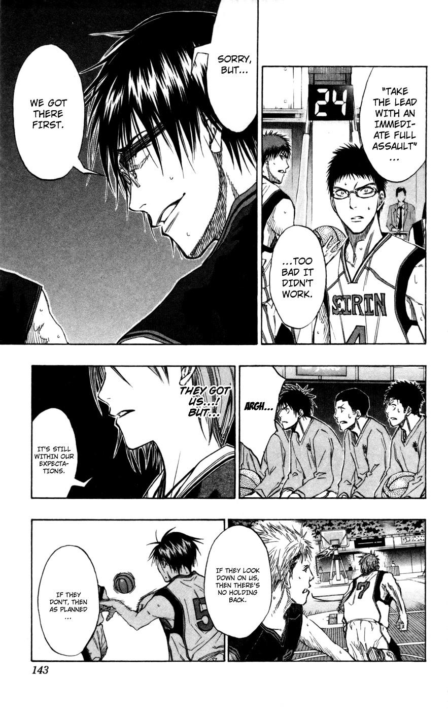 Kuroko no Basket Manga Chapter 115 - Image 15
