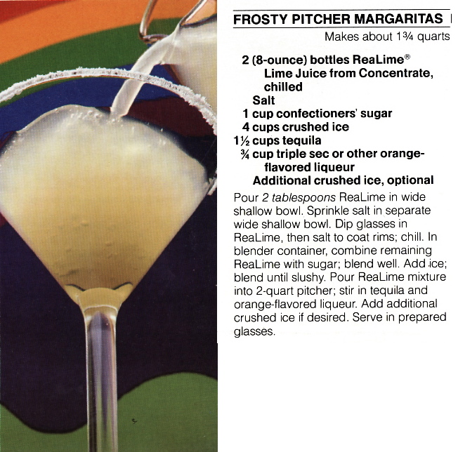 Frosty Pitcher Margaritas | Margarita Day February 22