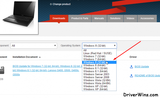 get a hold of Lenovo B550 driver - pic 1