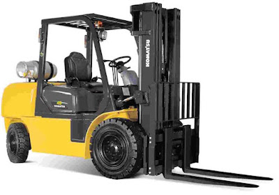 Xe nâng Komatsu 4 tấn LPG forklift
