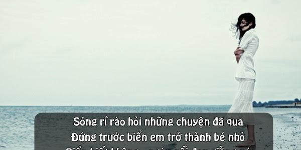 Status hay về Biển với những vần thơ 4 câu buồn man mác