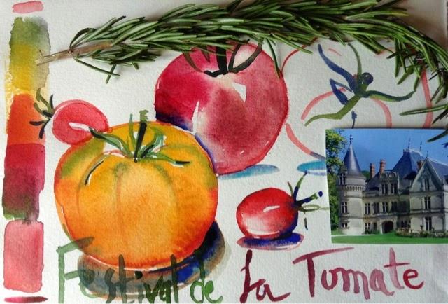 Paris breakfasts festival de la tomate chateau de la bourdaisiere - La bourdaisiere tomates ...