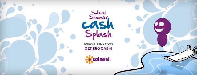 Solavei Summer Cash Splash Deal!