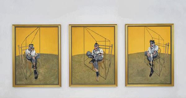 Tres estudios de Lucian Freud