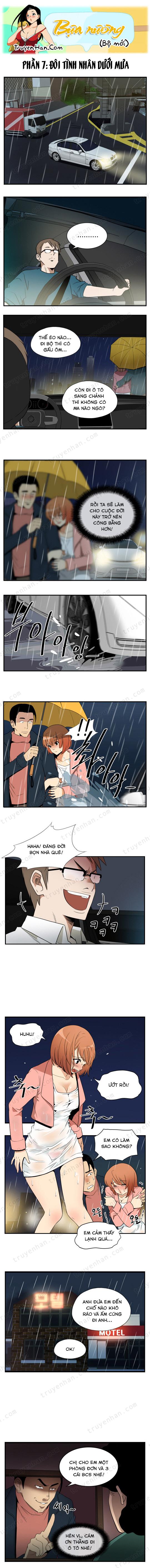Bựa nương (bộ mới) phần 7: Đôi tình nhân dưới mưa