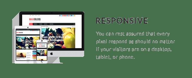 MaxBlog - Responsive Magazine Blogger Template - 20