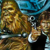 Han Solo, Chewbacca LE Print - ends Feb 8th