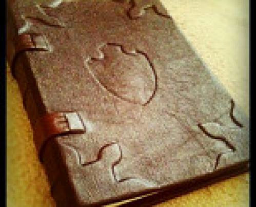 Year And A Day Blank Leather Bound Book Of Shadows Artisan Arthurianmedieval Journal
