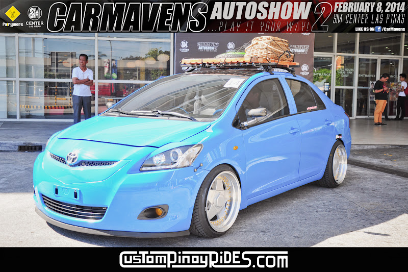Down-to-Earth Stanced Blue Toyota Vios Custom Pinoy Rides Car Photography Manila Philippines pic3