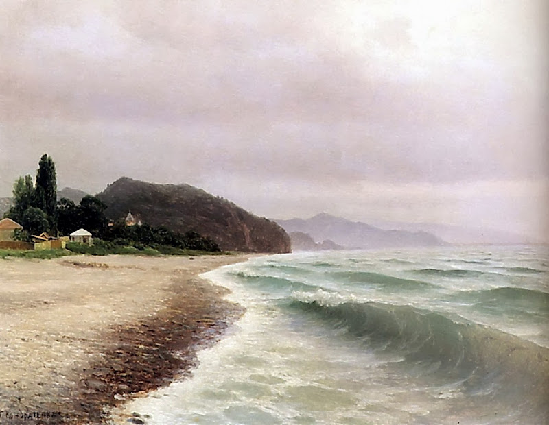 Gavril Kondratenko - Seashore. Crimea