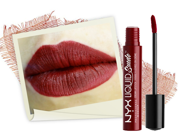 NYX Liquid Suede Cream Lipstick – Màu Cherry Skies