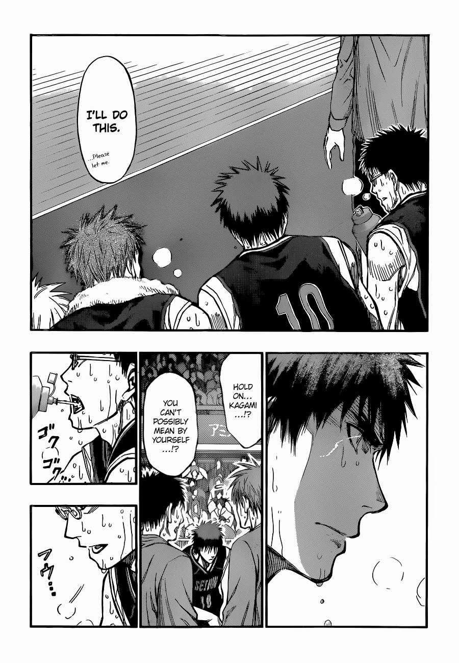 Kuroko no Basket Manga Chapter 261 - Image 12