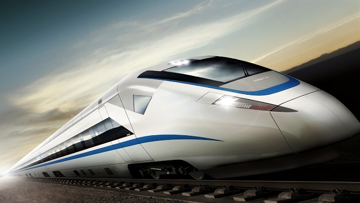 Concept High Speed Train wallpaper