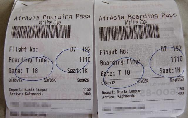 達人帶路-環遊世界-Airasia登機證