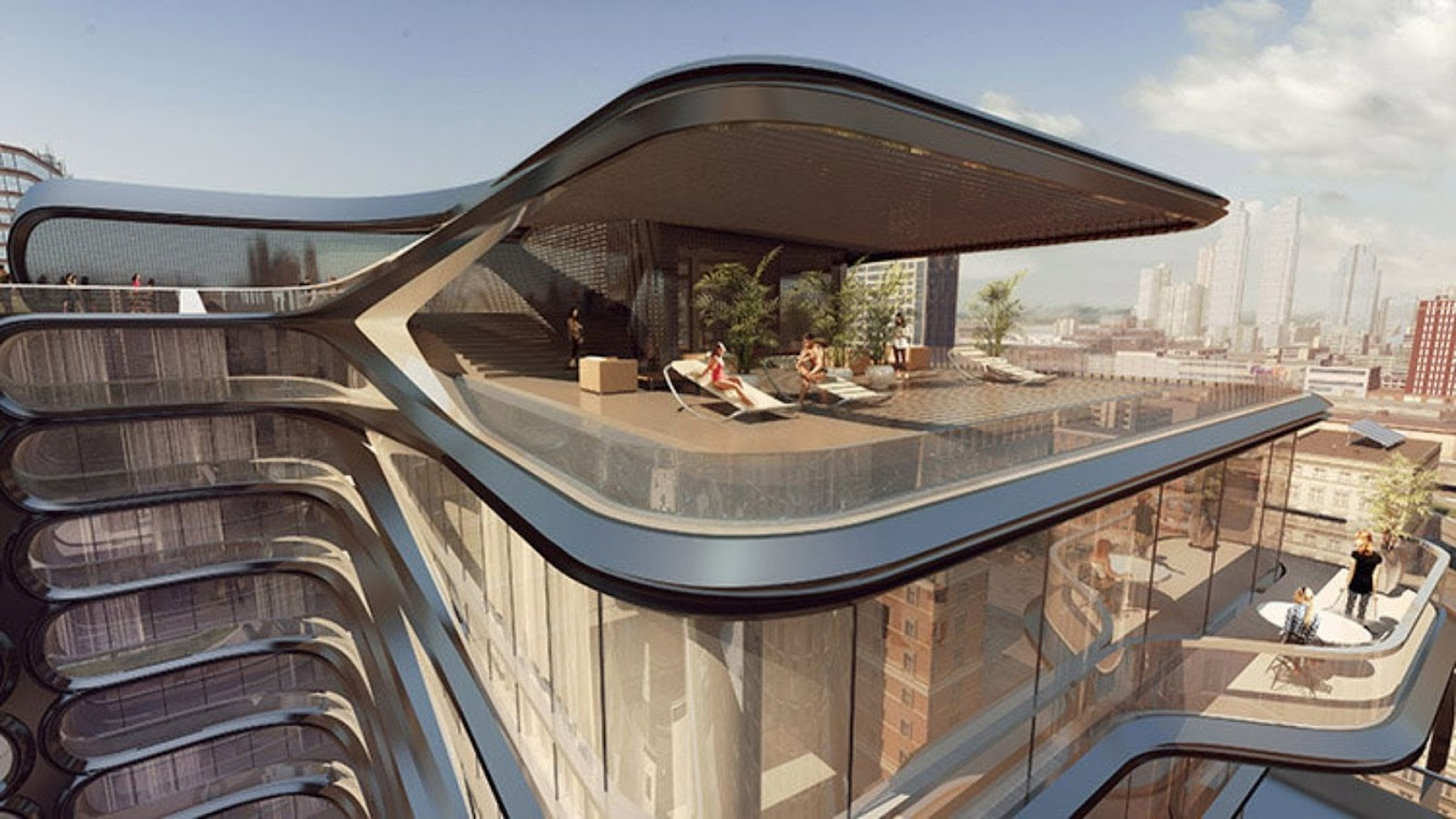 West 28th Street by Zaha Hadid