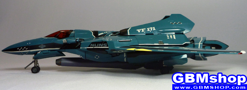 Macross Frontier VF-171 Nightmare Plus General Machine Fighter Mode