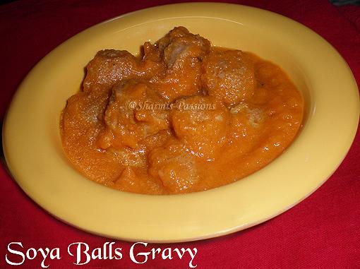 Soya Balls Gravy