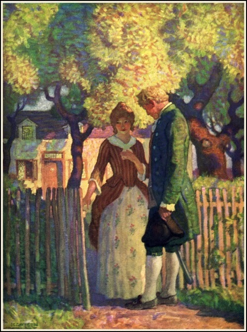 N. C. Wyeth - David Balfour. David and Catriona