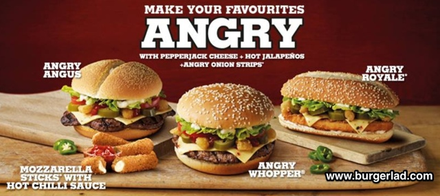 Burger King Angry Whopper Price Review Calories More