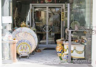 Seramik dükkanı, Positano