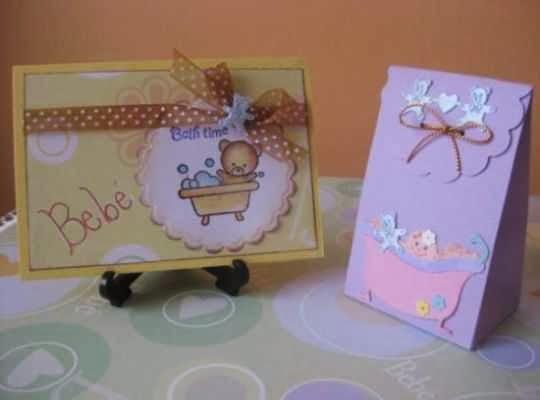 Tarjetas para organizar baby shower