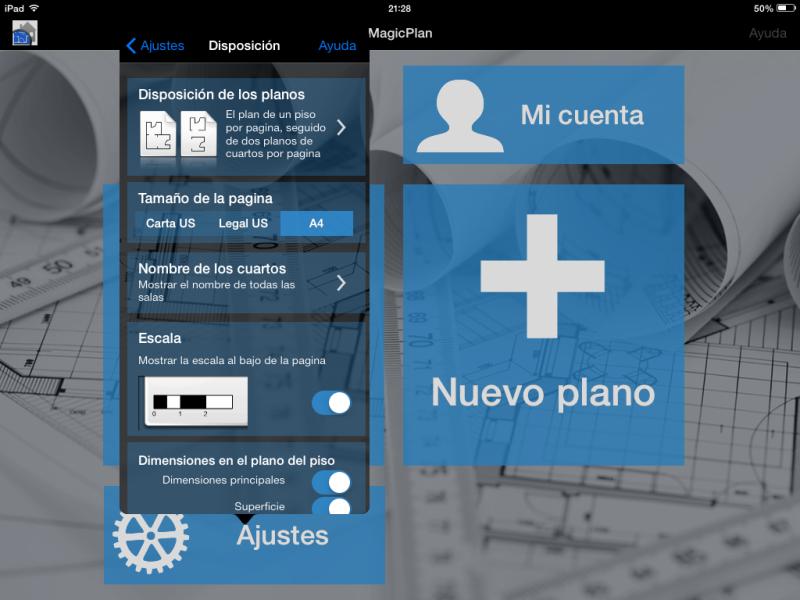 Apps de Construcción | Menú