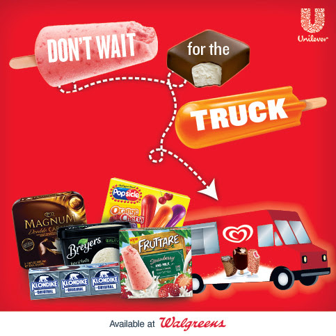 Yummy Unilever Summer Treats at Walgreens